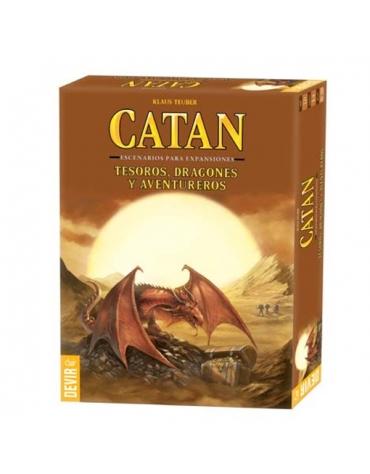 Catan Dragones, Tesoros y Aventureros - Juego de Mesa