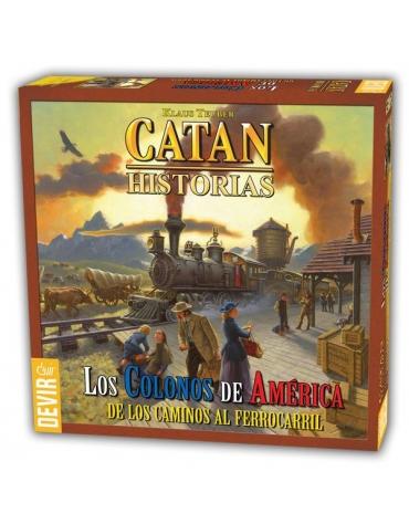 Catan Los Colonos de América - Juego de Mesa