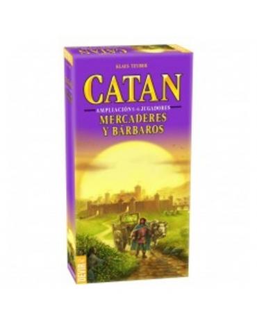 Catan Mercaderes y Bárbaros 5-6 jugadores Expansión - Juego de Mesa