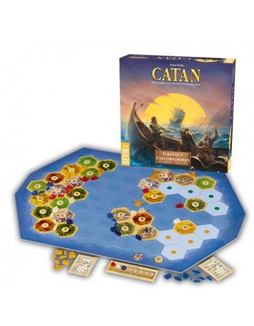 Catan  Piratas y Exploradores - Juego de Mesa