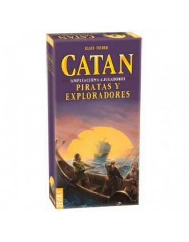 Catan  Piratas y Exploradores 5-6 jugadores Expansión - Juego de Mesa