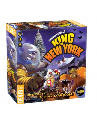 King of New York - Juego de Mesa