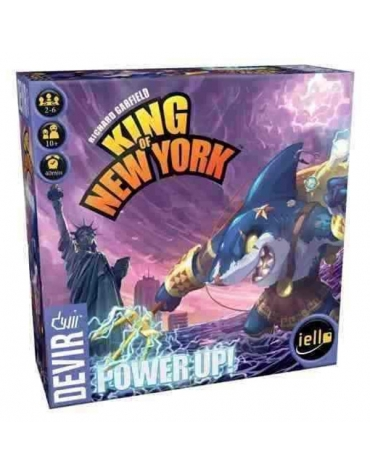 King of New York Power up! - Juego de Mesa