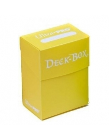 Deck Box, Caja de Barajas, Brillante  Amarillo