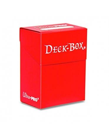 Deck Box, Caja de Barajas, Rojo
