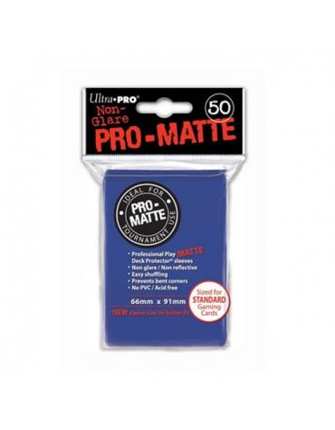 Pro-Matte Fundas Standard, Azul 66 x 91 mm