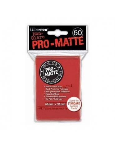 Pro-Matte Fundas Standard, Rojo 66 x 91 mm
