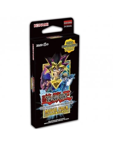 Movie Pack Edición Dorada TCG - Yu-Gi-Oh!