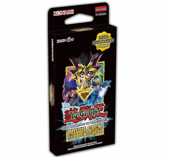Movie Pack Edición Dorada TCG - Yu-Gi-Oh!