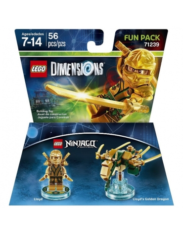 Lego Dimensions Ninjago Lloyd Fun Pack