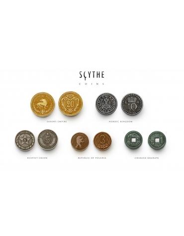 Monedas Metalicas Para Scythe